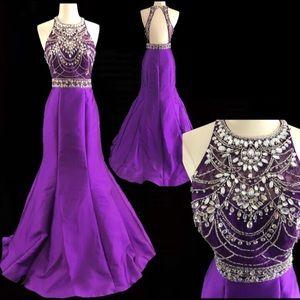 Rachel Allan Designer Dress NWT